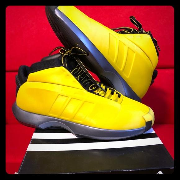 newest 66523 e0c66 adidas Other - Retro Kobe Crazy1 sunshine size 9.5